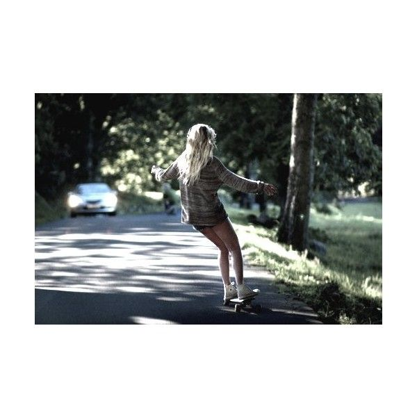 skate girl | Tumblr ❤ liked on Polyvore featuring pictures, backgrounds, people and skate