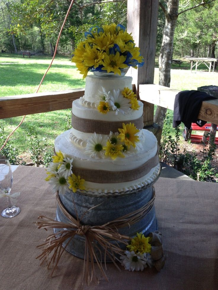 Country Wedding Cakes Country Themed Wedding Cake