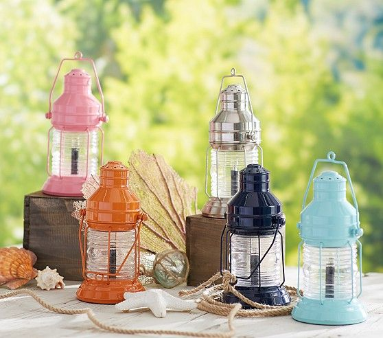 Lanterns On Sale At Pottery Barn For Glam Camping Or Boy S