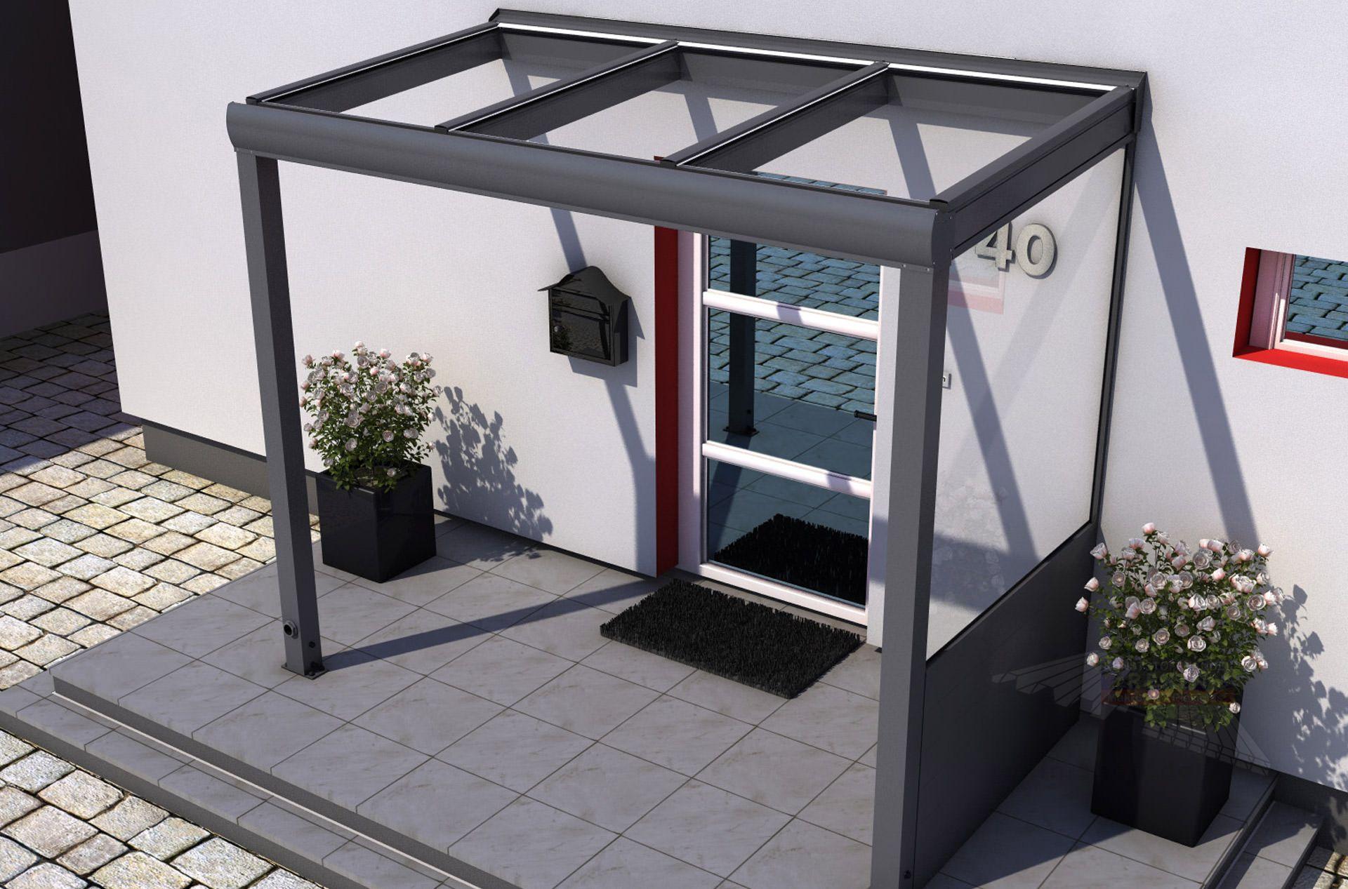 Garagen Gunstig Minimalist : Terrassenüberdachungen aus holz oder alu stegplatten und plexiglas