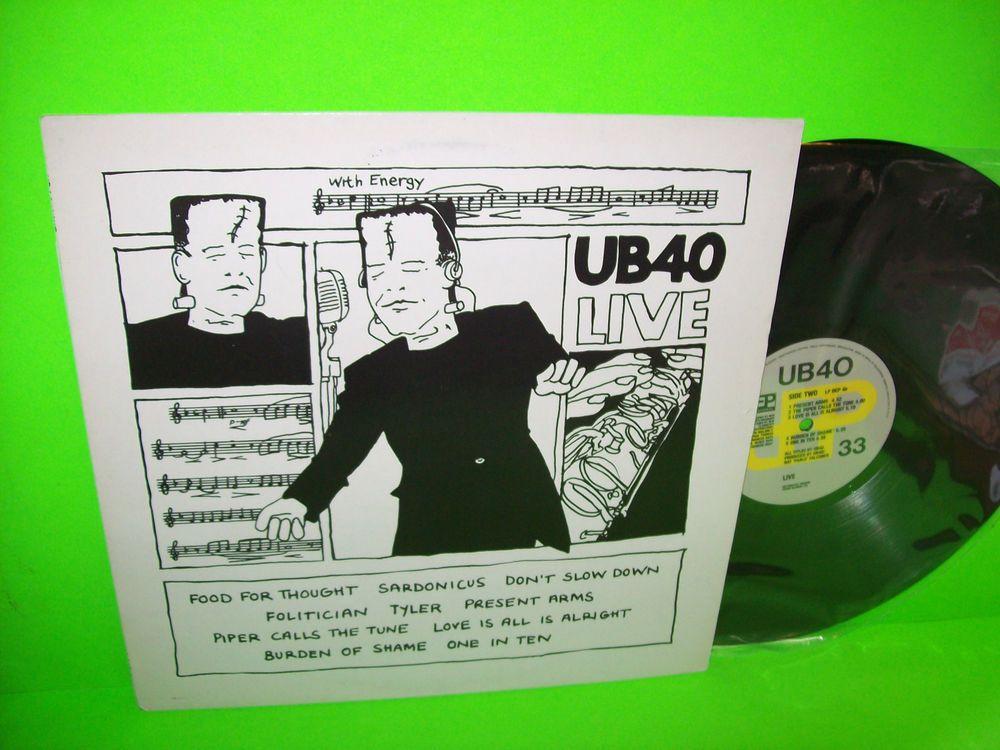 UB40 – Live 1983 UK Import Vintage Vinyl LP DEP International – LP DEP 4 EX #ReggaePop