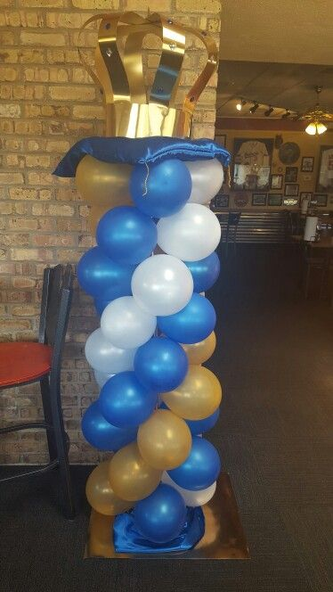 Crown balloon tower towers pinterest