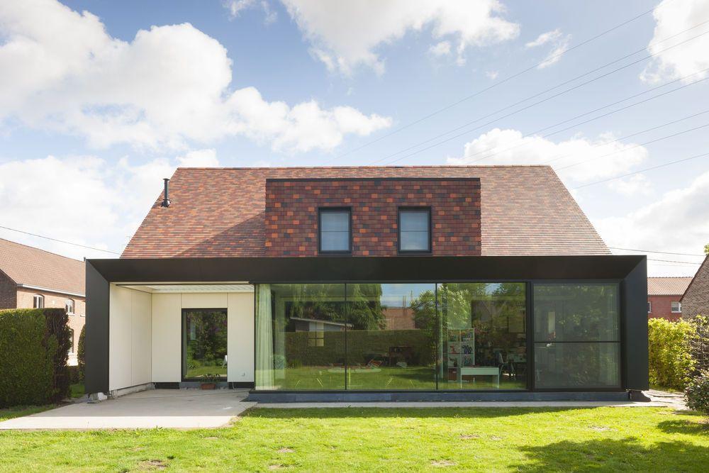 L\u0027architecte Koenraad Schoovaerts a transformé une maison de style