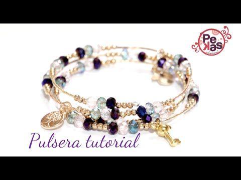 7f5d80163254 Como hacer un Collar elegante de Perlas