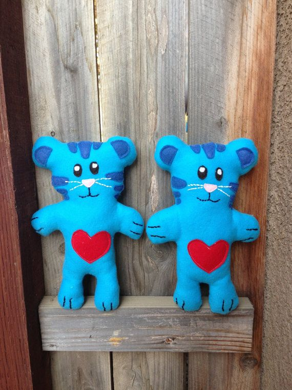 Blue Tiger Tigey Plush Toy Daniel Tiger's Neighborhood Doll for toddlers and…