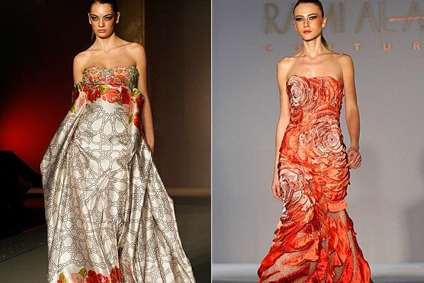 Rome Fashion Week ... Syrian designer Rami Al Ali's . Photo: Reuters