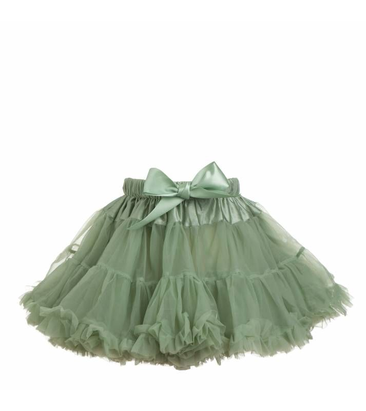 Petticoat in Sage - Girl's Petticoats And Tu Tus from Poppy UK