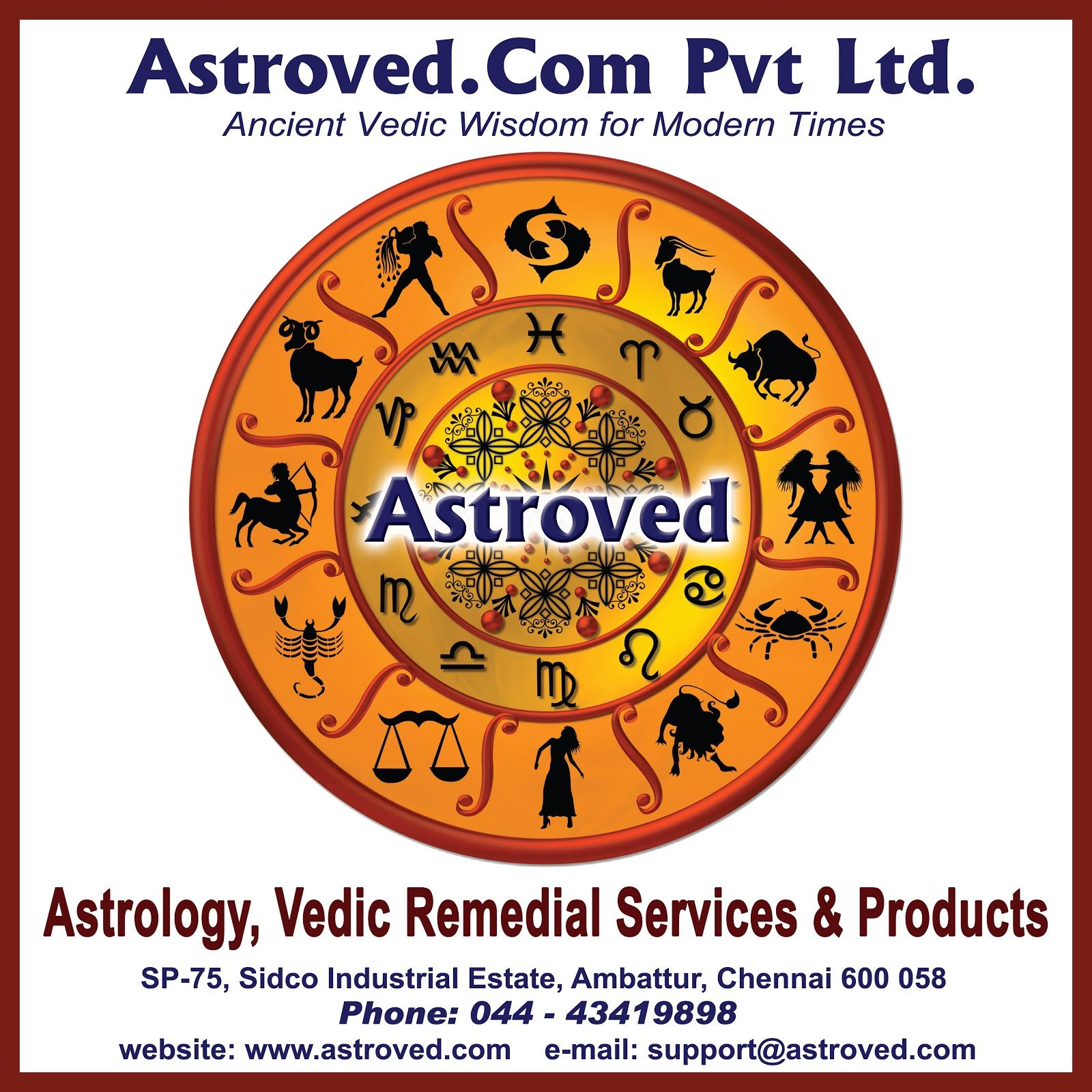 Astroved Chart Report