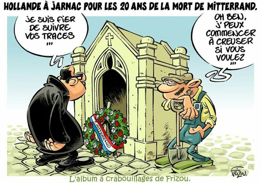 Frizou (2016-01-11) Hollande,   hommage a Mitterand
