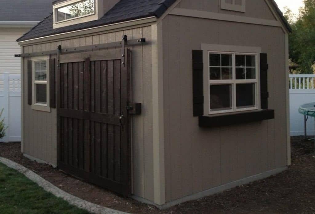 Shed With Sliding Doors Double Door V Groove Sliding Hardware Barn Door Hardware Designed Exterior Barn Doors Exterior Sliding Barn Doors Double Barn Doors