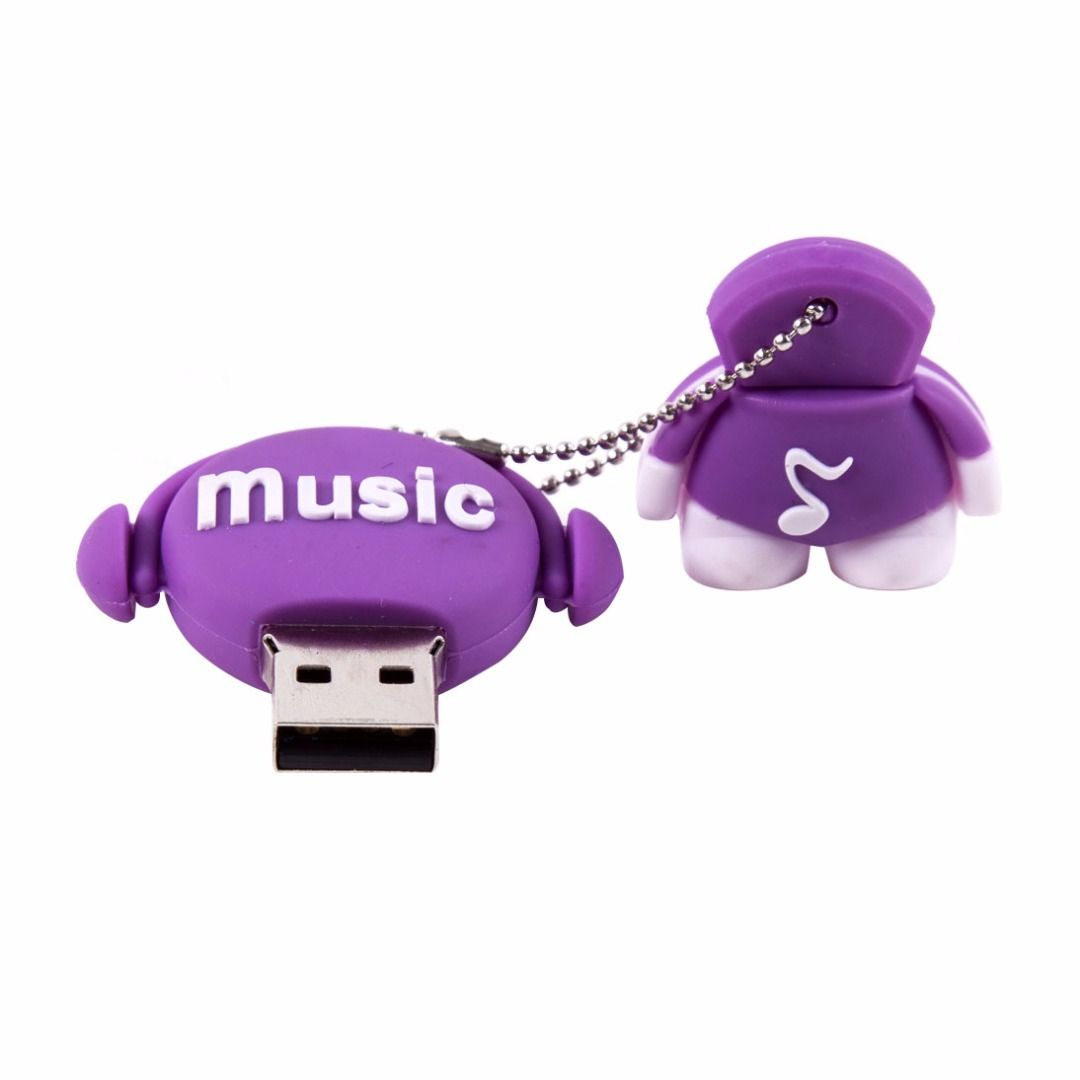 Music Doll Usb Flash Drive In Purple 38 Discount Patpat Mom