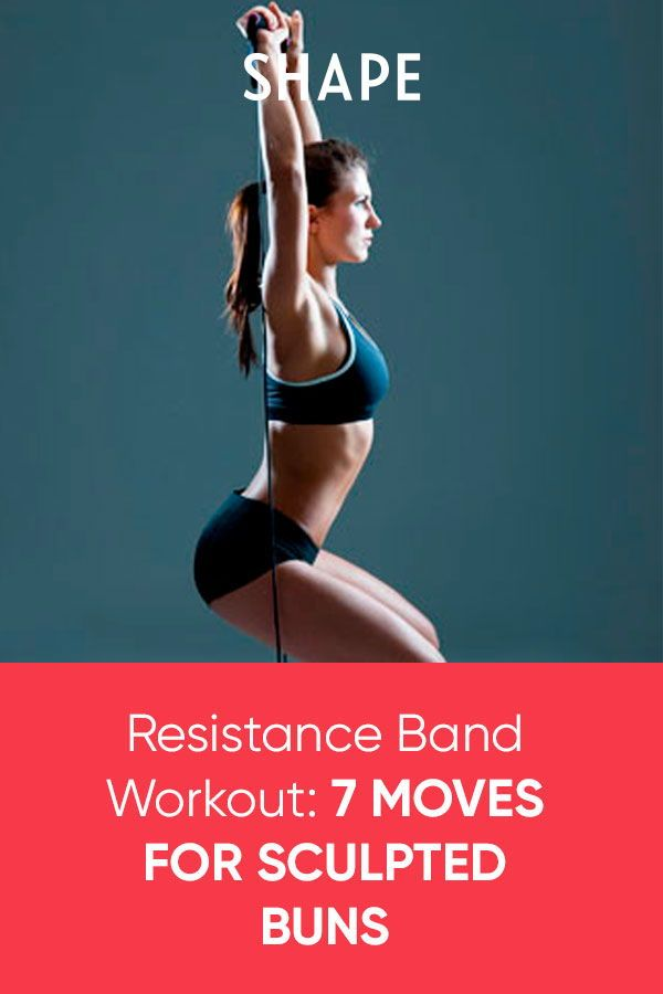 This Resistance Band Workout Will Build a Stronger Lower Body