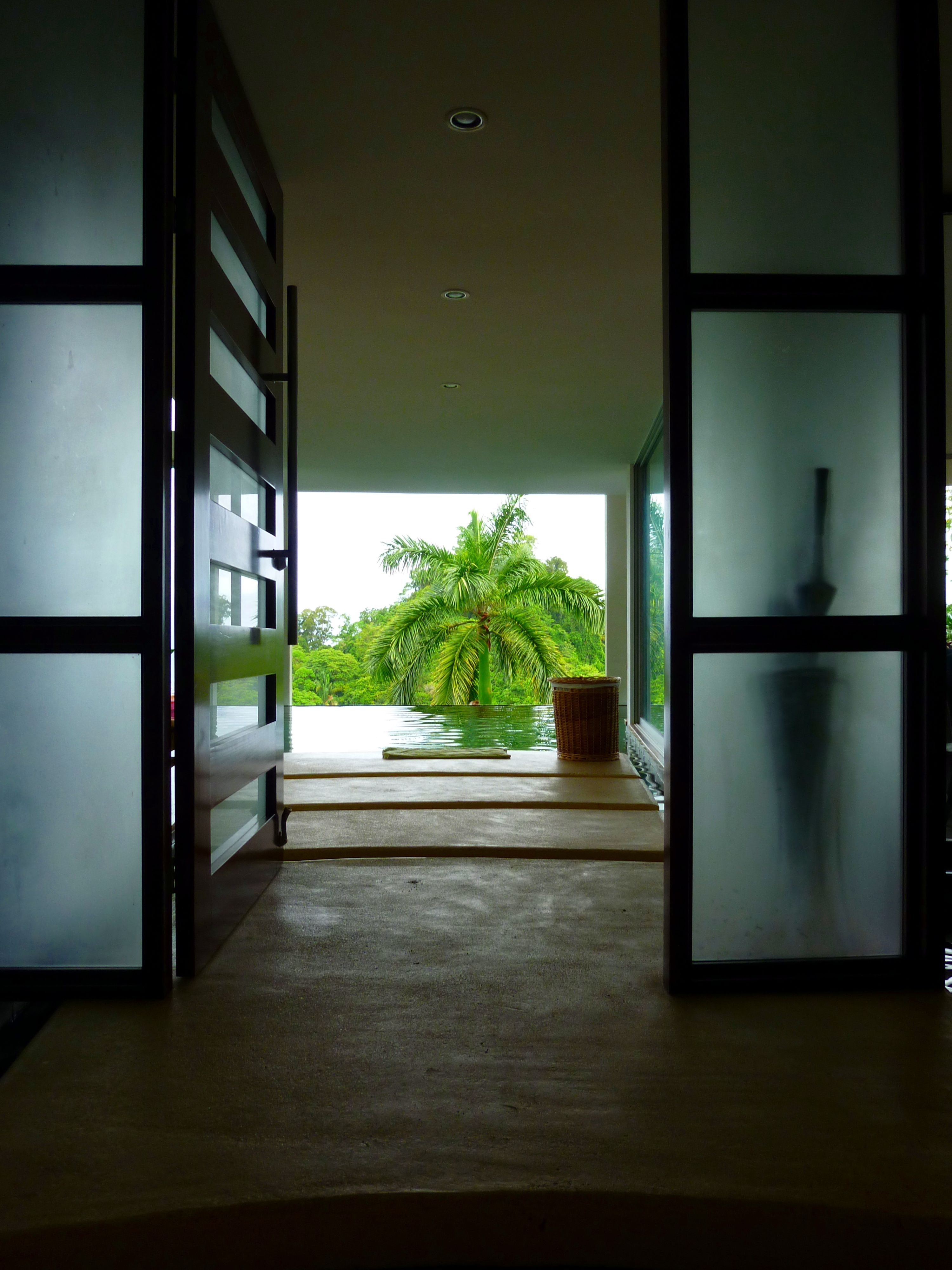 Entrance to Casa Las Nubes