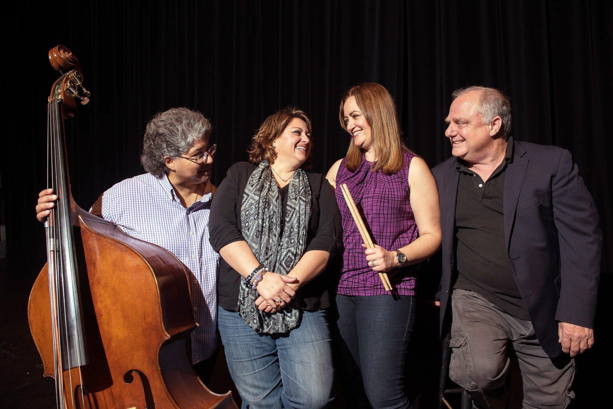 St Andrews School music teacher Elena Correia has a young son