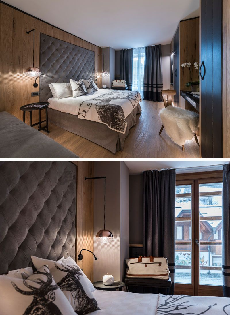 Bedroom Design Idea This Hotel Has The Headboards Built Into The