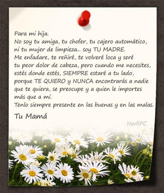 Palabras Bonitas Para Dedicar A Mi Mama Postales E Imagenes Para