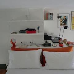 Photo of Zona studio camera da letto in stile industriale dell'arch. silvana citterio industrial | homify
