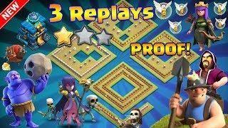 3 replays new th12 war base 2018 anti 2 star anti everything