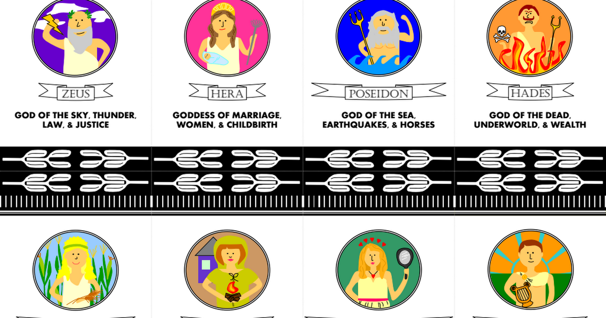 Greek Gods And Goddesses Card Game Pdf Greek Crafts Greek Gods And Goddesses Greek Gods