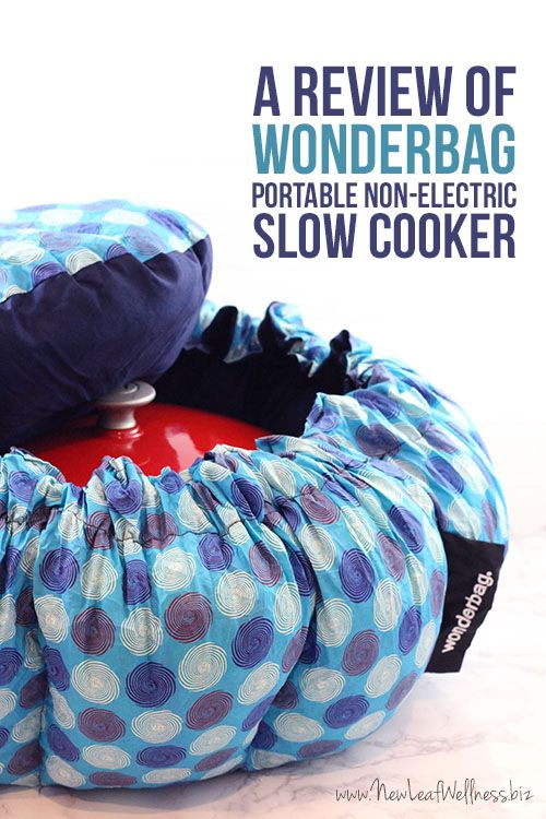 Use This Bag To Cook Your Favorite Slow Cooker Meals While Camping Or At The Beach It Keeps From Drying Out Burning For Up 12 Hours