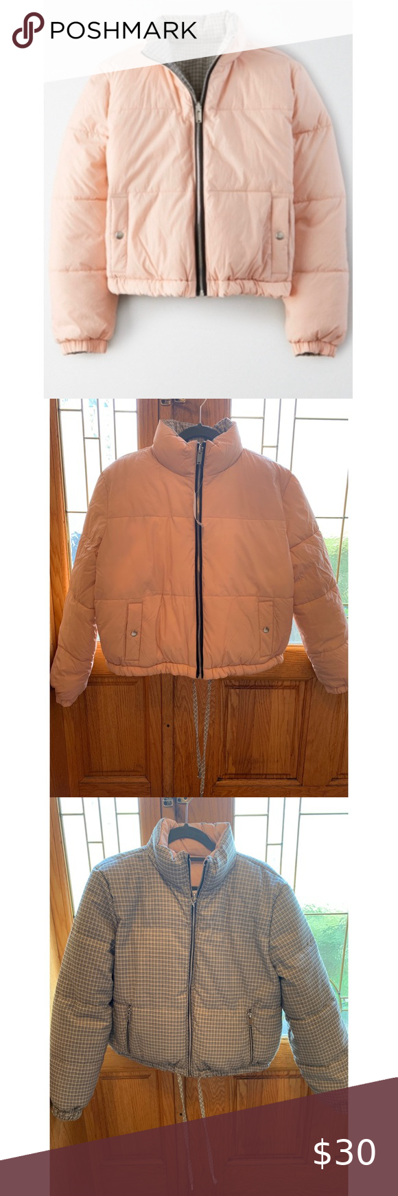 American Eagle Reversible Puffer Jacket Patterned Bomber Jacket Clothes Design Selling Clothes [ 1740 x 580 Pixel ]