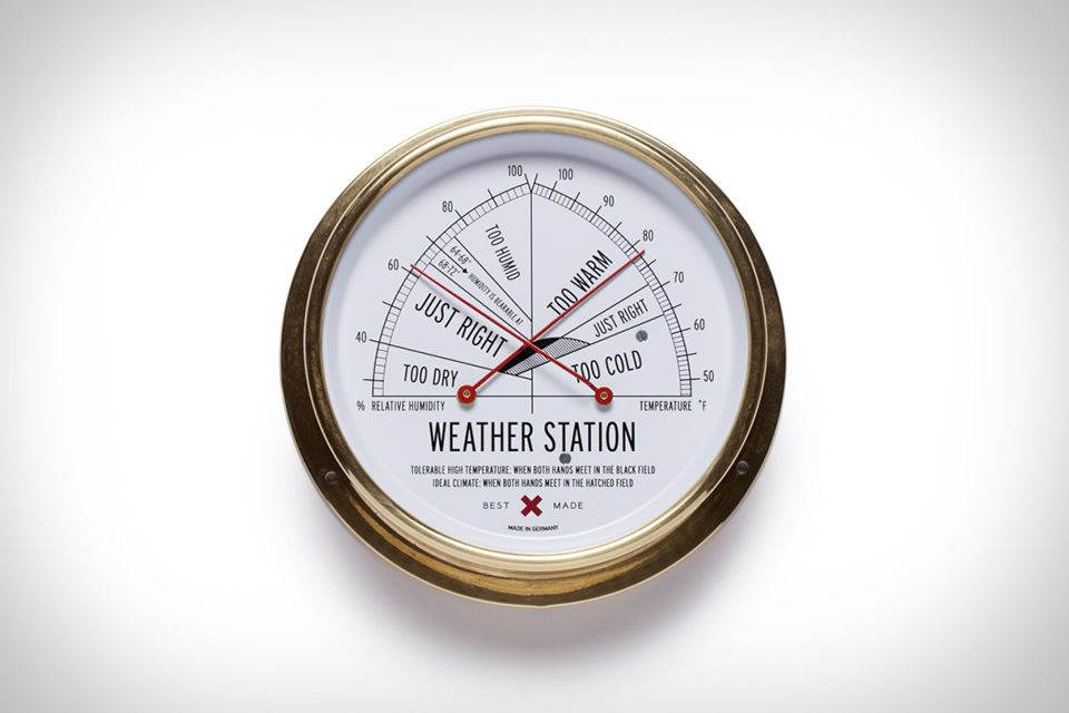 Best Made Weather Station Weather Station Cool Things To Make House Warming Gifts