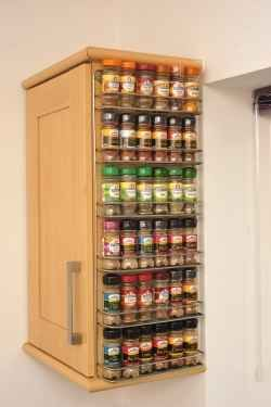 Getting Organized With A Wall Mounted Spice Rack In Your Kitchen Can Be Fun  And Easy