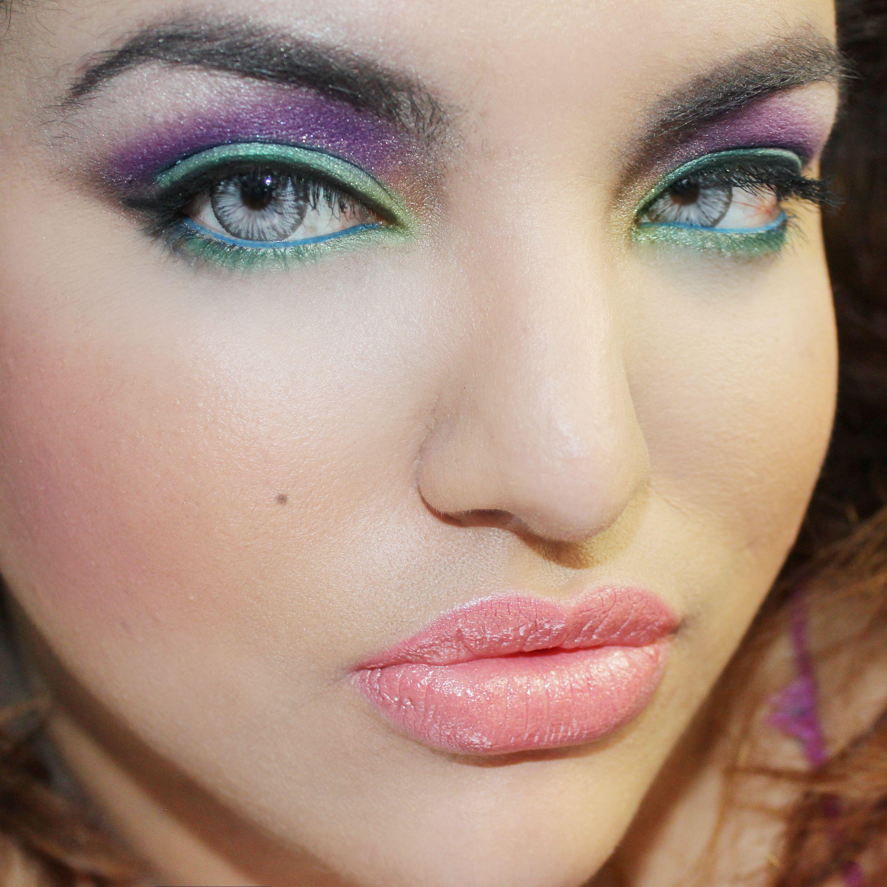 Makeup with light pink dress  Colours  Girlie stuffs  Pinterest  Maleficent cosplay Jewel