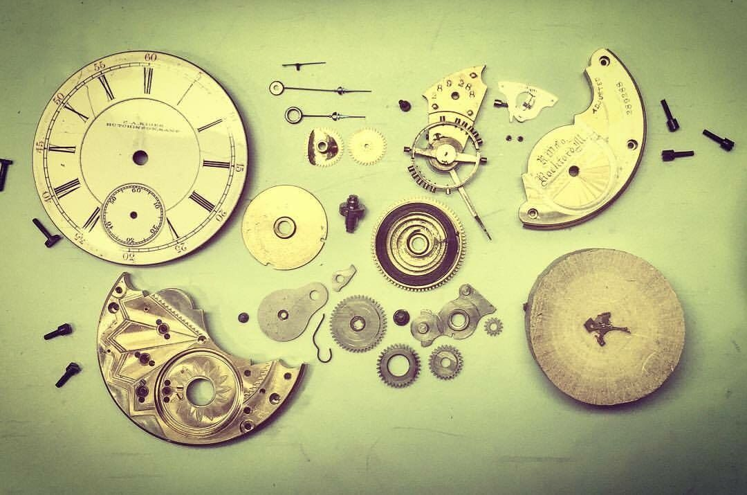 It S Always A Mystery When You Open Up An Antique Pocketwatch Precision And Detail Must Be Preserved From Technolog Vintage Timepiece Car Emergency Kit Clock