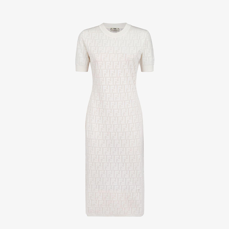 White Cotton Dress Dress Fendi Fendi Online Store Fendi Dress White Cotton Dress Luxury Fashion Dresses [ 1500 x 1500 Pixel ]