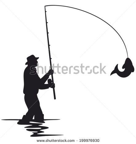 Man Fishing Stock Photos Man Fishing Stock Photography Man Fishing Stock Images Shutterstock Com Fish Silhouette Fish Man Fishing Decals