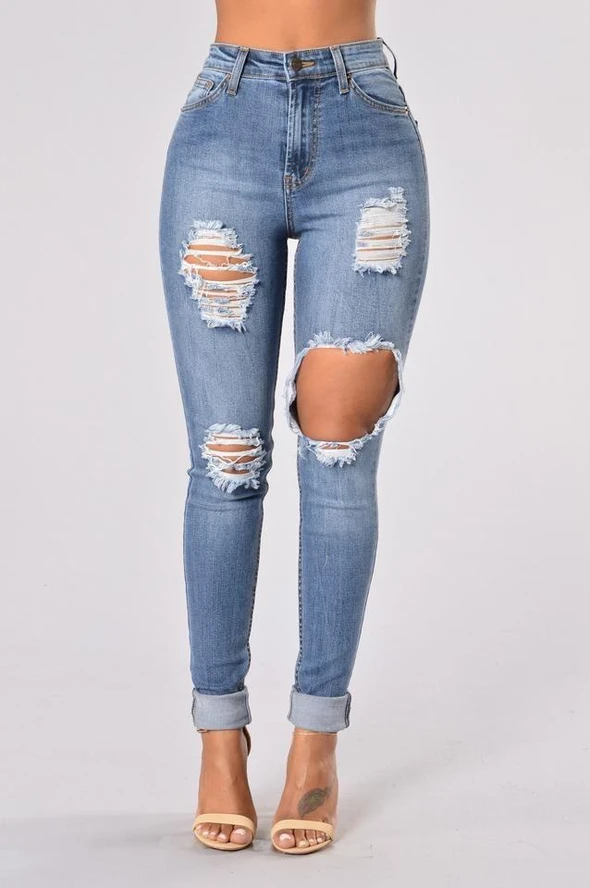 Photo of I migliori jeans per donna Pantaloni da golf bianchi