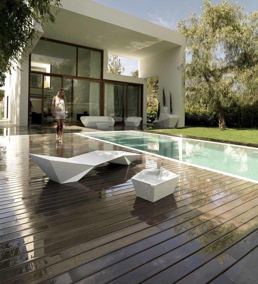 Tumbona de dise o faz vondom tumbonas piscina - Disenador de jardines ...