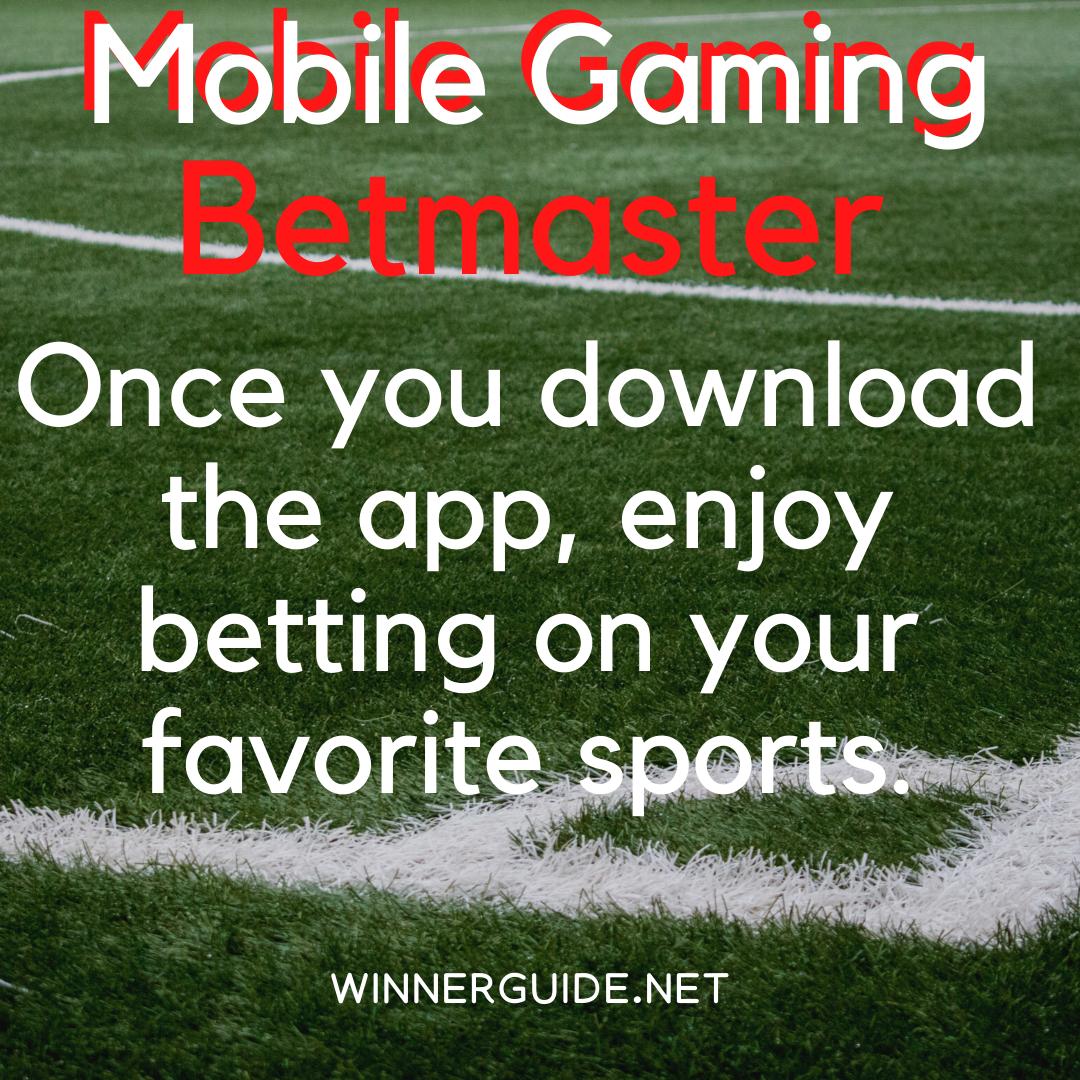 Betmaster Winnerguide in 2020 Enjoy app, Sports