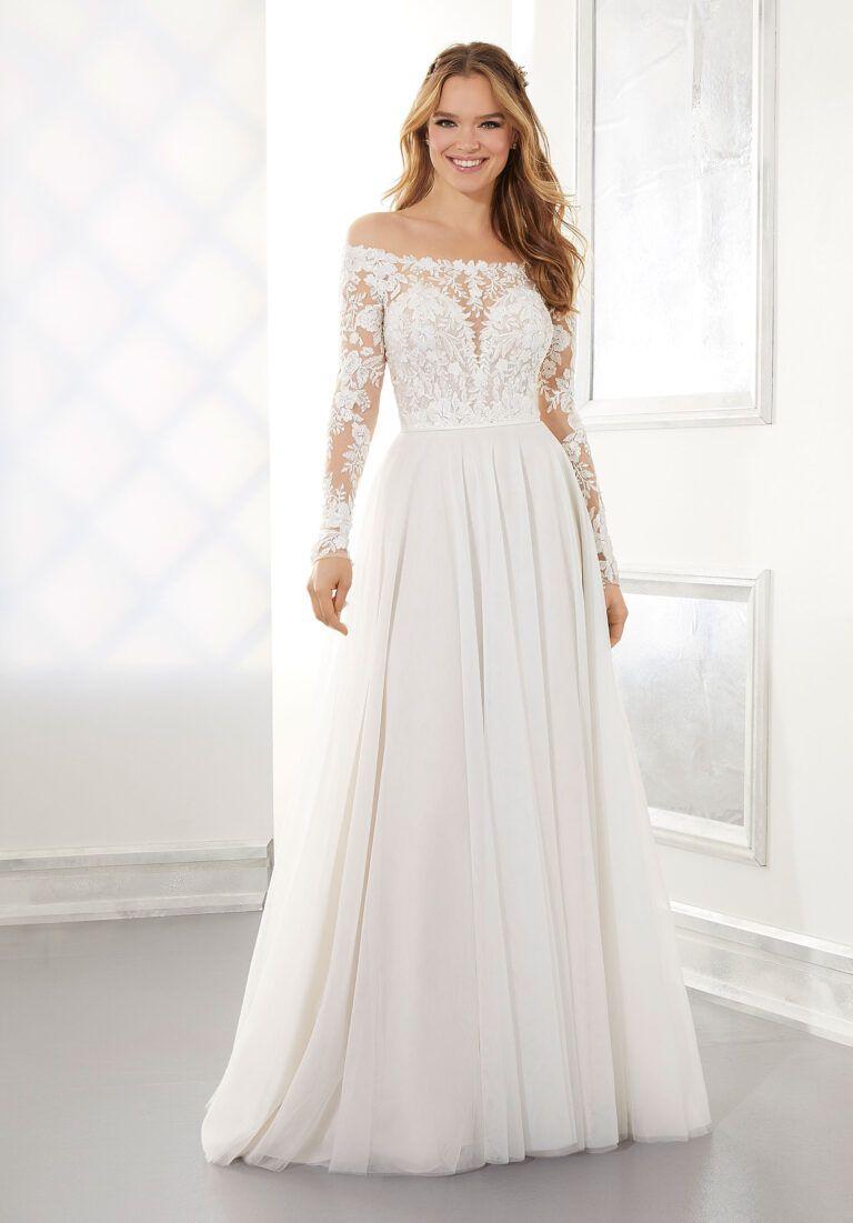 Ashley Wedding Dress Morilee In 2020 Long Sleeve Wedding Gowns Wedding Dress Long Sleeve Wedding Dresses Lace