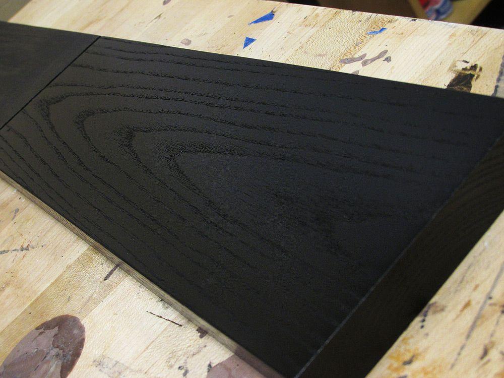 Jet Black Wood Dye