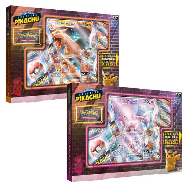 Comprar Combo Box De Pokemon Tcg Charizard Gx Mewtwo Gx Da