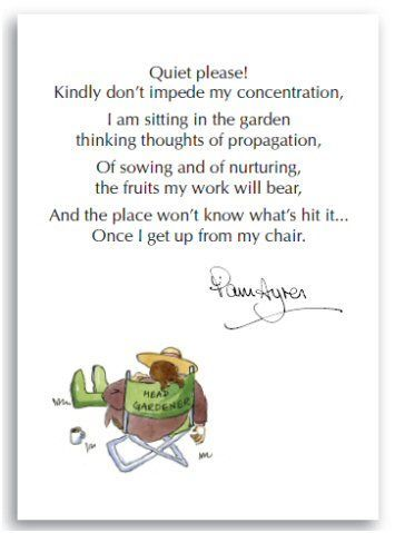 Pam Ayres Concentration Funny Poems Smile Quotes Words