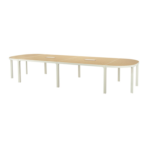 Ikea BEKANT Conference table, birch