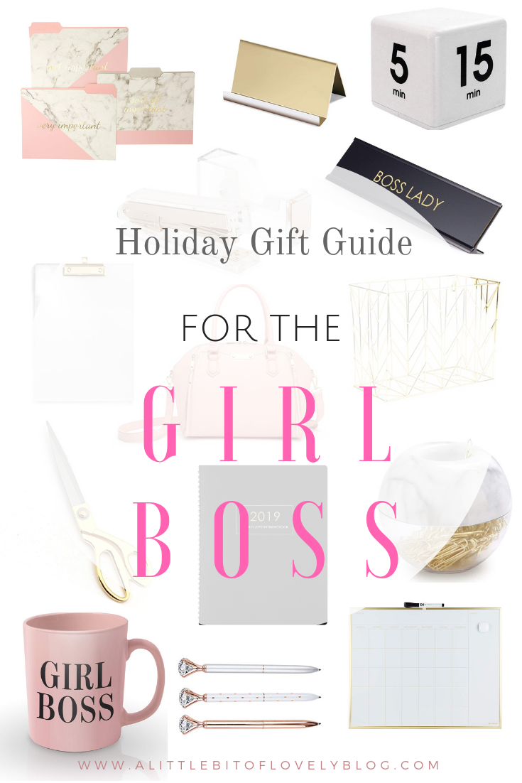The Best Holiday Gift Guide For The Girl Boss All Items Are