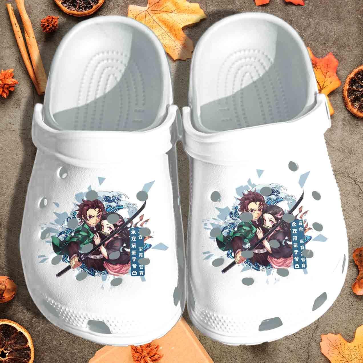 Photo of Slayers Demon Anime Manga Fan Art Crocs Shoes – Japanese Manga Crocs Clog Birthday Gift For Boy Girl