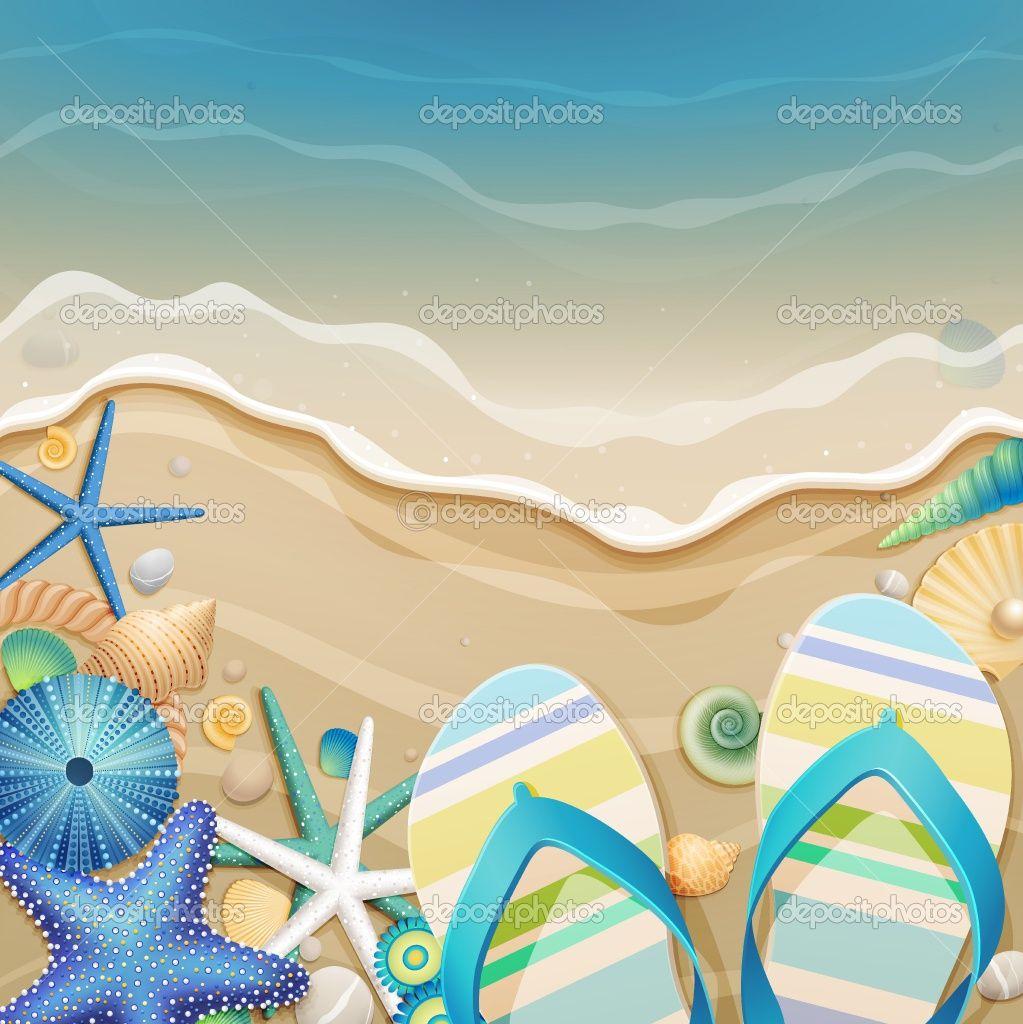 827285243 Flip Flops In The Sand