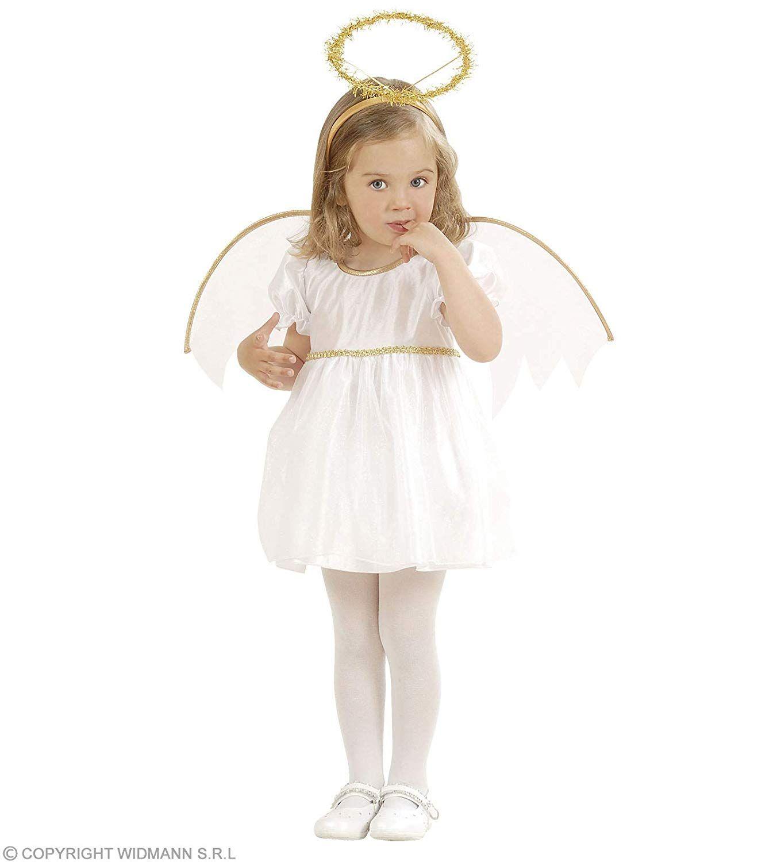 Disfraz De Navidad Para Nina Talla 1 2 Anos Disfraces De Angel