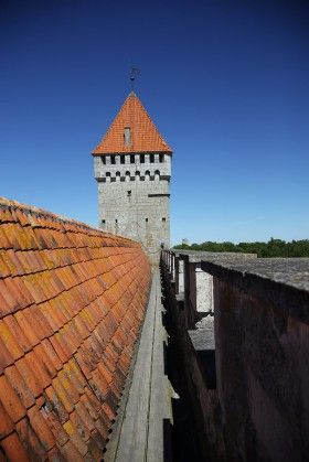 Kuressaare castle, Saaremaa island, Estonia