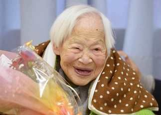 Oldest Japanese woman