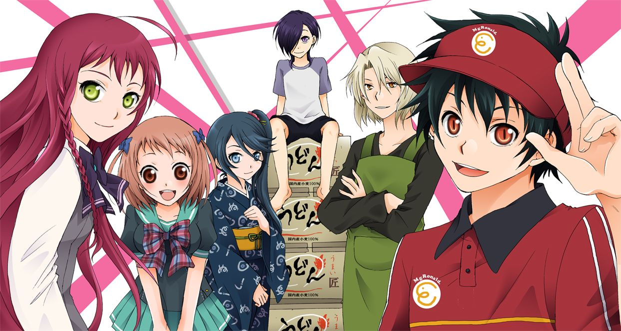 Devil part timer sadou mao genre action comedy romance fantasy demonssuperpowers