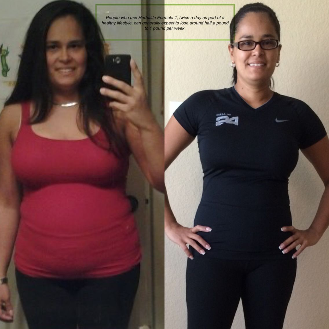 herbalife weight loss results 2016