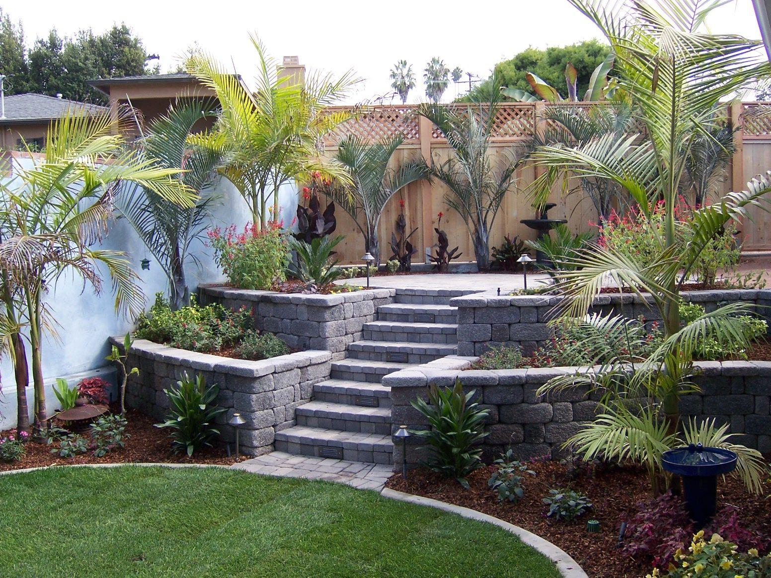 Pin By Krc Rock Landscape Building On Landscape Pool Decor Retaining Wall Landscape
