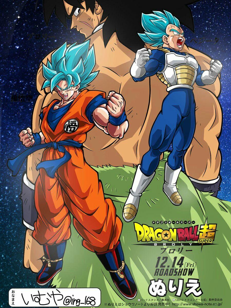 Dragon Ball Super Broly Dragon Ball Art Dragon Ball Super