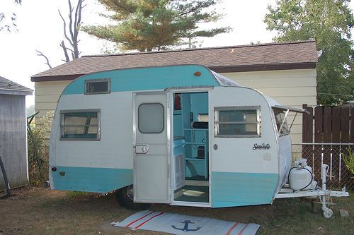 Antique Airstream Trailers Best 2000 Decor Ideas
